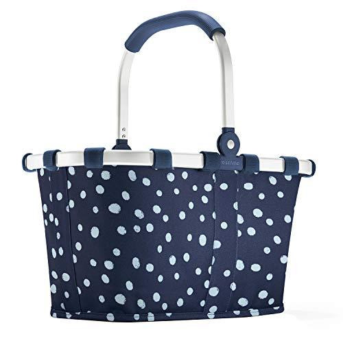 Reisenthel carrybag XS Spots Navy Einkaufskorb Picknickkorb Henkelkorb 5 Liter