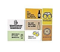 ✅ En ce qui concerne la bière ou le vin, vous avez clairement décidé de vous offrir la bière ? Alors ce kit est certainement pour vous. Une idée de décoration amusante pour les amateurs et ne manquera pas d'attirer les regards Aimants pour tableau ma...