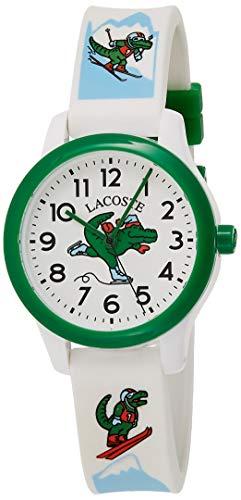 Lacoste Reloj Analógico para Unisex Infantil de Cuarzo con Correa en Silicona 2030022