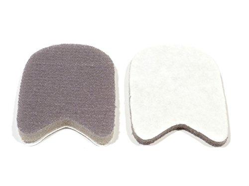 REMA 1 Paar Laschenpolster für Schuhzungen aus Schaumstoff (Klein ca. 37-41)