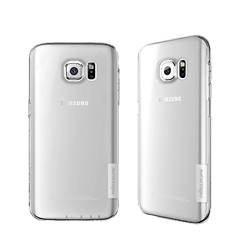 """Galaxy S7 Edge Case, Nillkin 0.023"""" ShockProof Ultra Thin Hard Soft TPU Slim Transparent Back Case Cover With Dust Plug for Samsung Galaxy S7 Edge (2016) – Clear"""