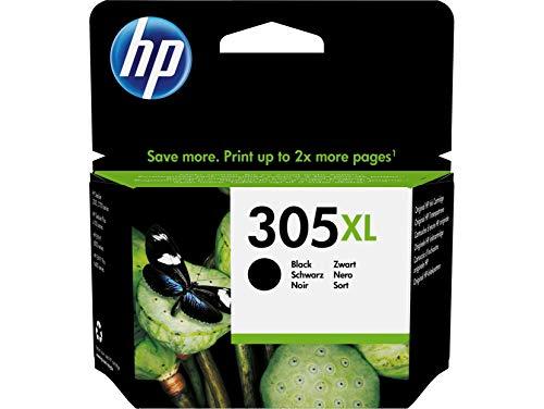 HP 305XL 3YM62AE, Cartucho de Tinta Original de Alto Rendimiento, Negro, Compatible conimpresoras de inyección de Tinta HP DeskJet Series 2700, 4100, Envy Series 6020, 6030, 6400 y 6430
