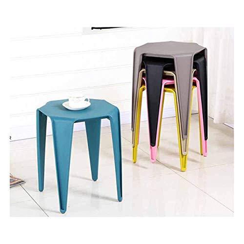 WRJY Taburetes de Bar Juego de 2 sillas Taburetes de Bar Selección de Colores de plástico Barra de Desayuno Cocina Muebles para el hogar 95 (Color: Blanco)
