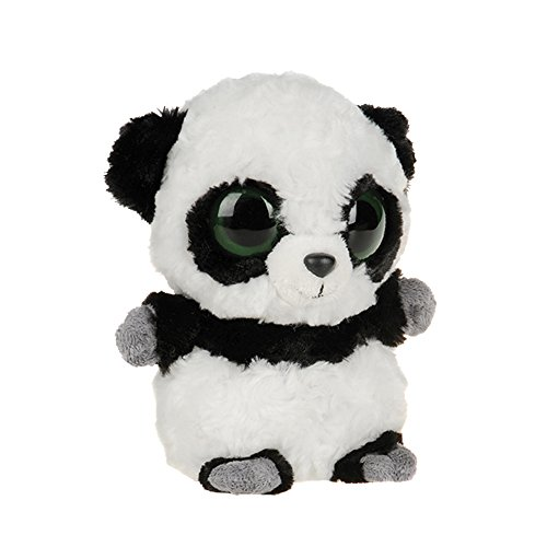 YooHoo & Friends - Peluche Panda, 13 cm, color blanco y