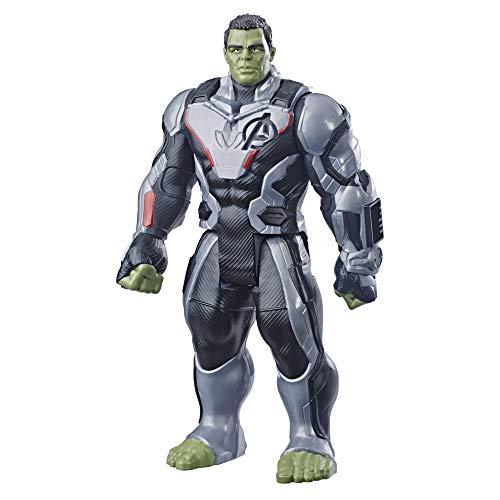 Marvel Avengers: Endgame - Hulk Titan Hero Deluxe compatibile con Power FX (Action Figure da 30 cm, Power FX non incluso)
