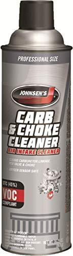 Johnsen's 4642-12PK VOC Compliant Carburetor Cleaner Spray - 16.25 oz., (Pack of 12)