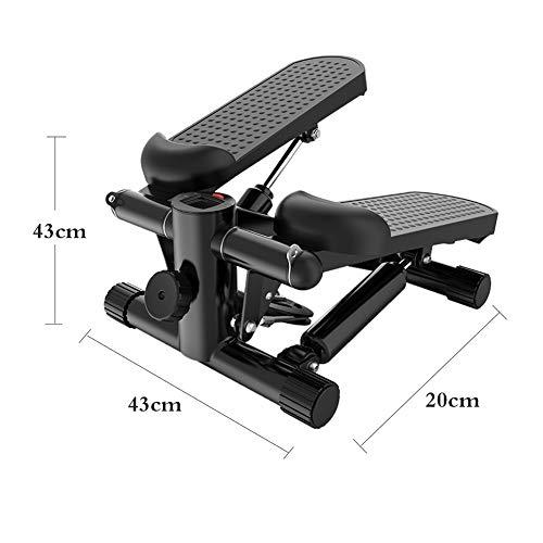 2in1 Mini Stepper, Home Mute Multifunktions Fahrrad Sportgerät Mit Kalorien und Schrittzahl Ausdauertraining für Zuhause und Büro
