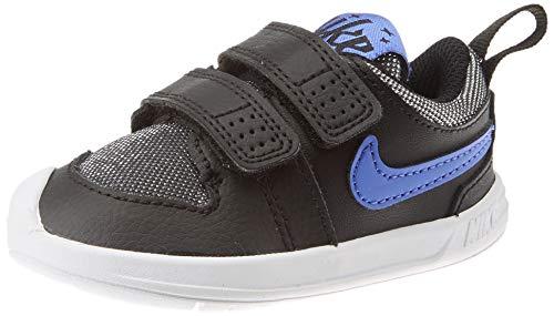 Nike Unisex-Baby Pico 5 Glitter (TDV) Sneaker, Black White Sapphire, 18.5 EU