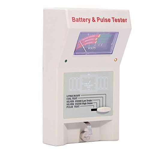 DAUERHAFT Reloj Analizador de Reloj de Cuarzo Probador de Pulso Detector Duradero para relojeros con Material plástico