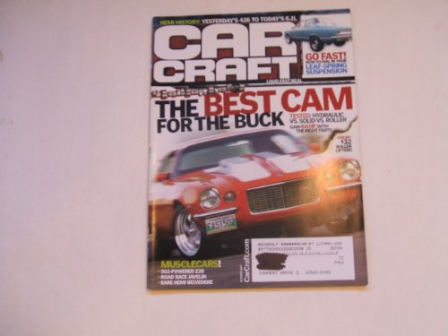 Car Craft October 2007 (THE BEST CAM FOR THE BUCK - TESTED HYDRAULIC VS. SOLID VS. ROLLER GAIN 64HP WITH THE RIGHT PARTS. - HEMI HISTORY: YESTERDAY'S 426 TO TODAYS'S 6.1 LITER)