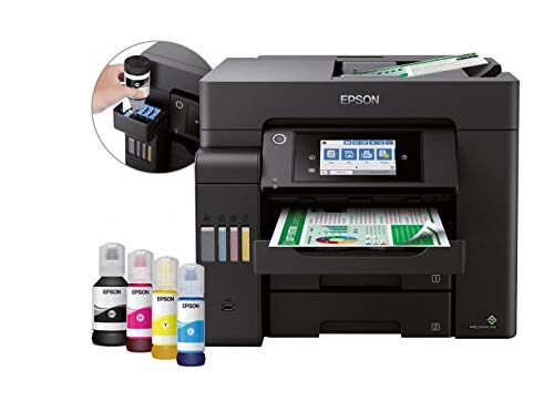 Epson EcoTank ET-5850 - multifunctionele printer - kleur - inkjetstraal - A4 (210 x 297 mm)
