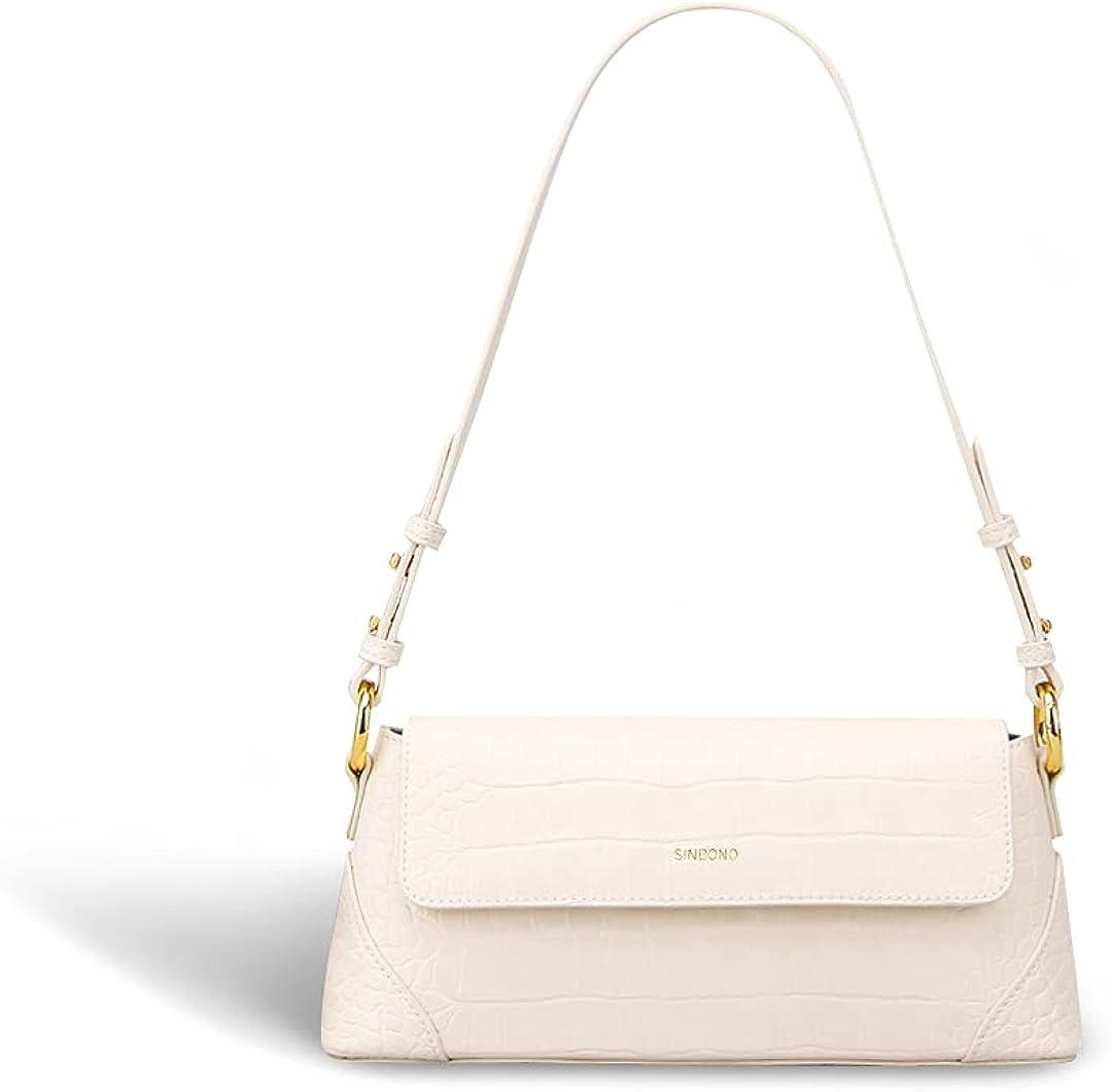 SINBONO Shoulder Bags for Women Classic Bags Purses Vegan Leather Handbags