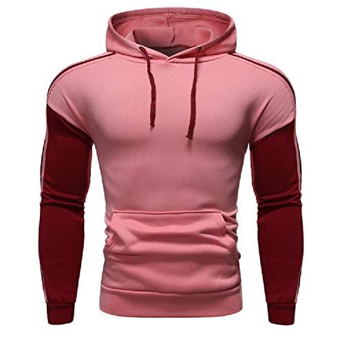 YDMZMS merk Autunno Moda casual sweatshirt met capuchon heren dames sweatshirt met capuchon pullover ritssluiting blouse maat M kleur 7