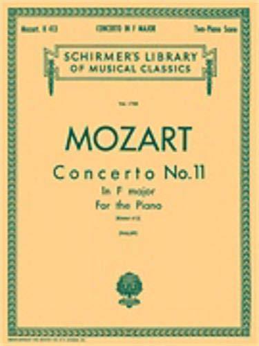 Hal Leonard Mozart-Concerto No. 11 in F, K.413-Piano Duet