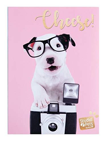 Erik® - Album foto 10x15 cm, 36 tasche, copertina morbida - Studio Pets Dog Charlie