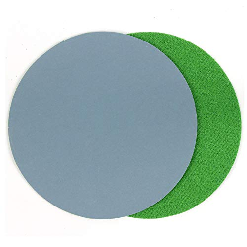 5 Inch (125mm) 3000 Grit Aluminum Oxide Wet/Dry(Waterproof) Hook and Loop Sanding Discs for 5