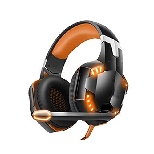 Kopfhörer Over Ear ZWRY G2000 G4000 Gaming Headsets Spiel Kopfhörer Headset Stereo Kopfhörer mit Mikrofon G2000orange