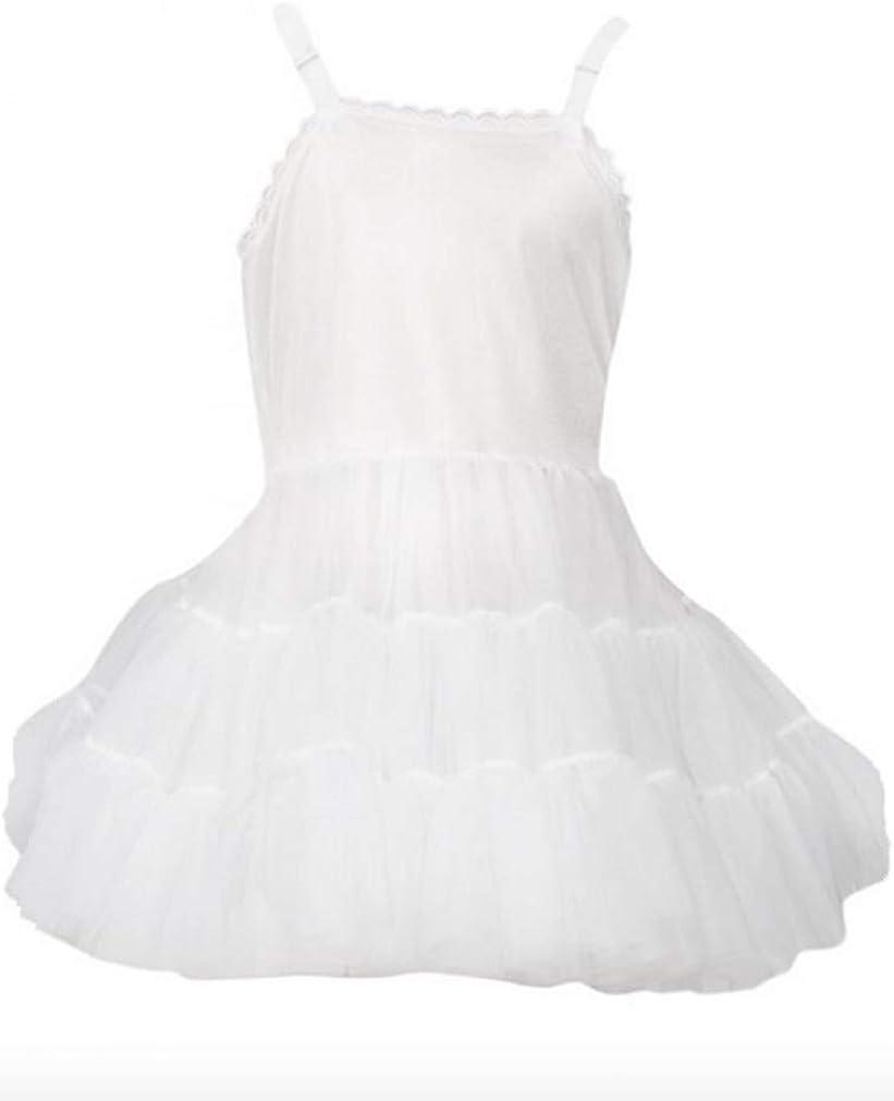 L C Boutique Girls Extra Full Bouffant Full Slip Adjustable Straps 2T-14