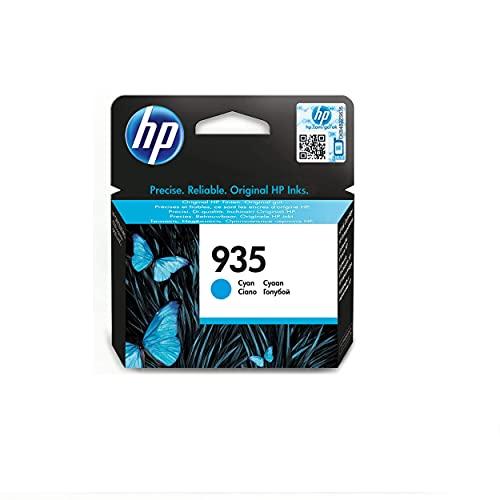 HP 935 (C2P20AE) Cartuccia Originale per Stampanti HP a Getto di Inchiostro, Compatibile con HP OfficeJet 6820; OfficeJet Pro 6230 e 6830, Ciano