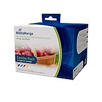 MediaRange mrhp364インクカートリッジブラック、ブルー、ピンク、イエロー
