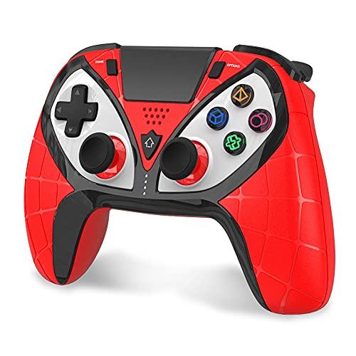 Wireless Gaming Controller für PS4, Geeklin Wireless Gamepad Remote Joystick für PS4 / PS3 / Android / iOS / PC mit aktualisierter Joystick, Headset-Buchse und doppelter Vibration