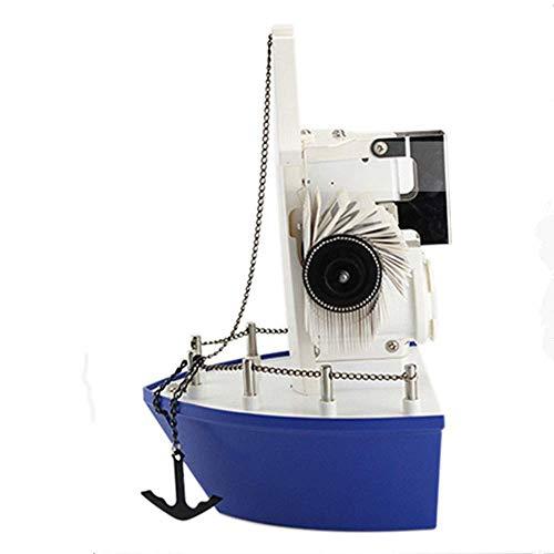 Pkfinrd Reloj Despertador Creativo Auto Flip Reloj Reloj Moda Vintage Vendimia Sala de Estar 2 1 cm * 15.7cm * 26.1cm
