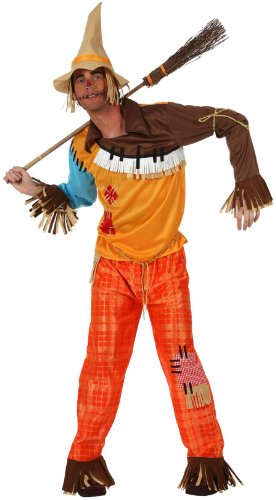 Atosa - Disfraz de espantapájaros adultos, talla L