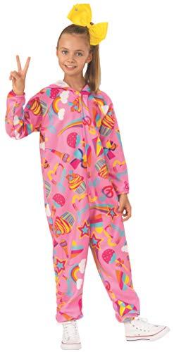 Rubie's JoJo Siwa Child's Pink One-Piece Jumpsuit Costume, X-Small