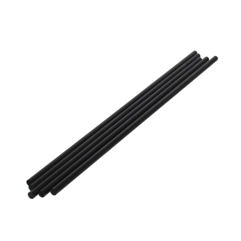 Fielect 4mm Direct stock discount Carbon Fiber Rod for Matte 2 RC Airplane Pole Bargain sale Length