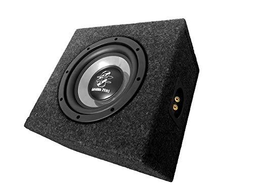 MEDIADOX/GROUND ZERO - 20cm/200mm Auto Subwoofer/Basskiste/Bassbox für VW T5 Transporter - 2003-2015