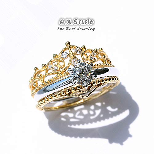 Bridal Jewelry Handmade Real Pave Diamond Chevron Ring 18k Solid Yellow Gold Handmade Fine Jewelry Christmas Gift Gifts for Her