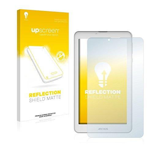 upscreen Entspiegelungs-Schutzfolie kompatibel mit Archos 70b Copper – Anti-Reflex Displayschutz-Folie Matt