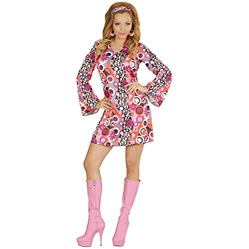 WIDMANN WDM67642 - Costume Per Adulti Groovy Girl, Multicolore, M
