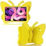 Coque pour iPad Air 4 10.9/Pro 11 2020/2018 - Motif papillon 3D - Légère - Résistante aux chocs -...