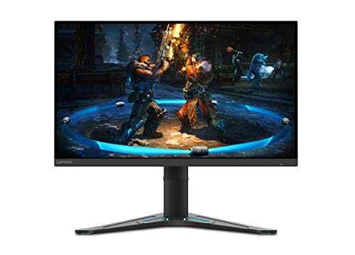 Lenovo G27q-20 27 Pulgadas QHD IPS FreeSync Premium Gaming Monitor 165 Hz 1 ms HDMI+DP con Bordes ultrafinos y Base Regulable en Altura - Negro corvino