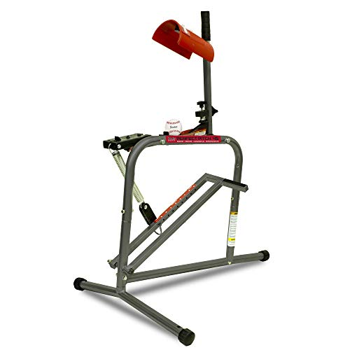 Heater Sports Perfect Pitch 45 MPH Baseball & Softball Pitching Machine for Kids, Teens, Adults, Pitch League, and Coach Pitch - HC129