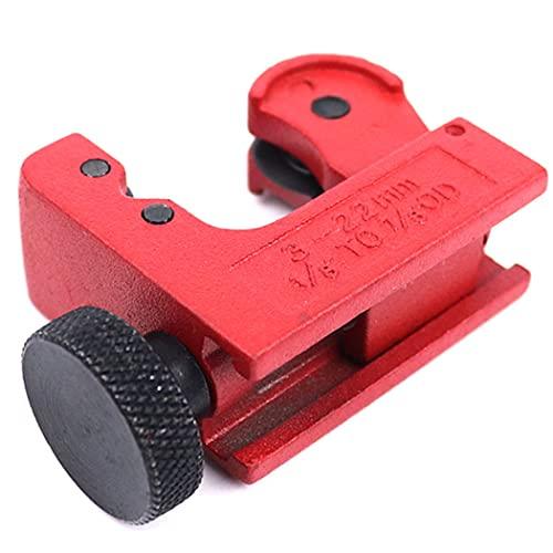CandyT Mini tagliatubi per Tubo di Rame Set di taglierine per Tubi rigidi per spazi ristretti per Strumento di Taglio per Tubi Idraulici