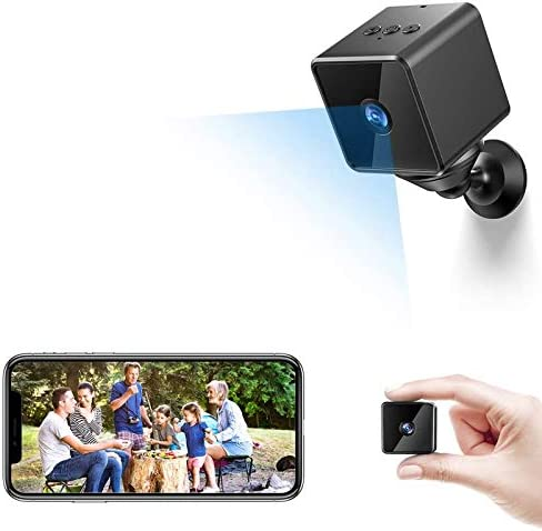 Bluetooth WiFi Mini Spy Camera Hidden ZZCP Wireless HD 1080P Portable Home Nanny Cam with Motion product image