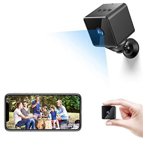 Bluetooth WiFi Mini Spy Camera Hidden, ZZCP Wireless HD 1080P Portable...