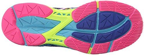 ASICS Women's Gel-Noosa Tri 11 Running Shoe, Asics Blue/White/Hot Pink, 9 M US 5
