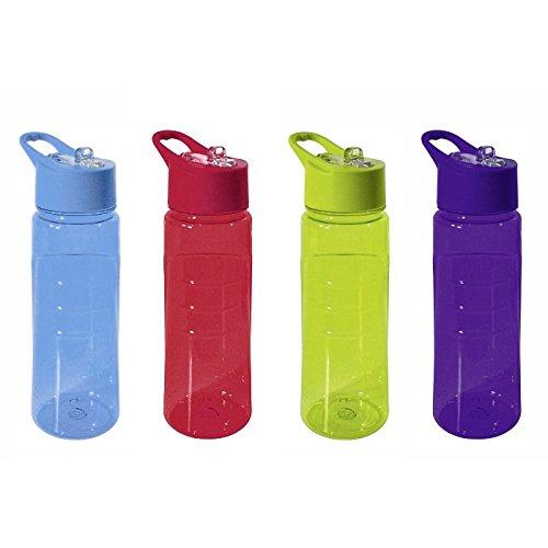 Trinkflasche Tritan Move It Relax 750ml (farblich sortiert)