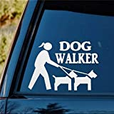 DONL9BAUER Aufkleber für Autofenster, Motiv: Hund...
