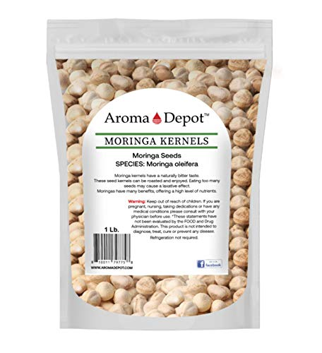 1 lb Moringa Seeds KERNEL Shelled C…