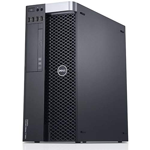 Dell Precision T3600 Workstation E5-1607 Quad Core 3Ghz 16GB 1TB Dual DVI Win 10 Pre-Install (Renewed)