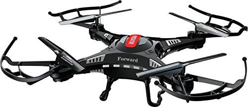 Dron PRIXTON PREDATOR, Cámara 2MP, 720P, HD, Color Negro, Accesorios