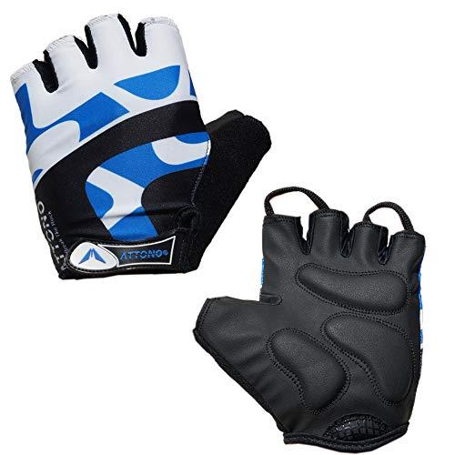 ATTONO Fahrradhandschuhe Gel Fahrrad Bike Rad Handschuhe