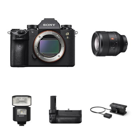 Lowest Prices! Sony a9 Full Frame Mirrorless Interchangeable-Lens Camera w/ SEL85F14GM Lens & Access...