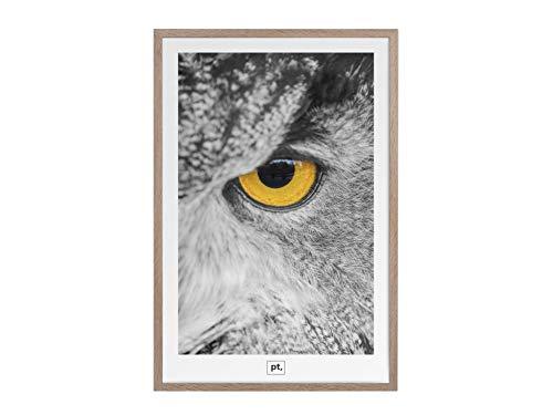 Present Time Cadre Photo Ritzy en Panneau MDF Couleur Bois 42 x 62 x 1,2 cm Taille Photo 40 x 60 cm