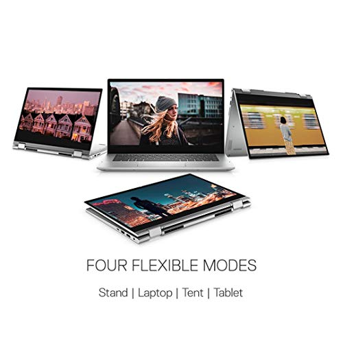 Dell Inspiron 5406 14 inch (35.5 cm) FHD Touch 2in1 Laptop (11th Geni3-1115G4 / 8GB / 512GB SSD / Integrated Graphics/ Win 10 + MSO / Backlit KB with FPR & Stylus Pen / Platinum Silver) D560384WIN9S
