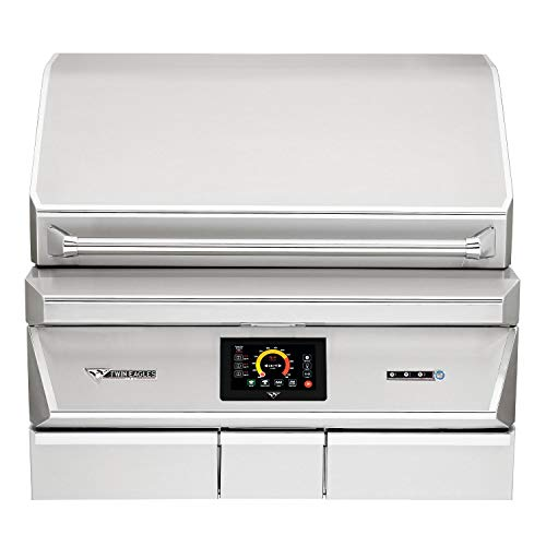 Great Features Of Twin Eagles 36-Inch Built-in Stainless Steel BBQ Pellet Grill and Smoker - TEPG36G